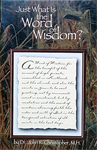 Just what is the Word of Wisdom Book 1 ct.