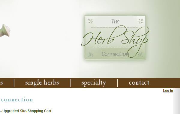 Herb Shop Connection