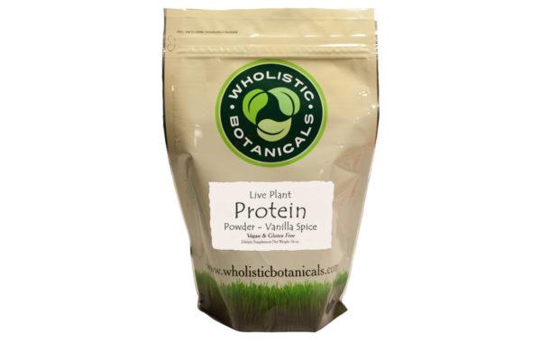 Vanilla Spice Live Plant Protein Powder