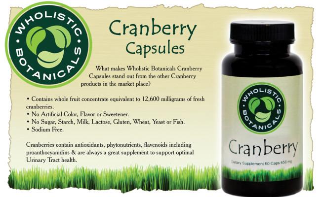 Cranberry Caps Flyer