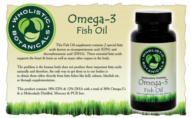 Omega-3 Fish Oil Flyer