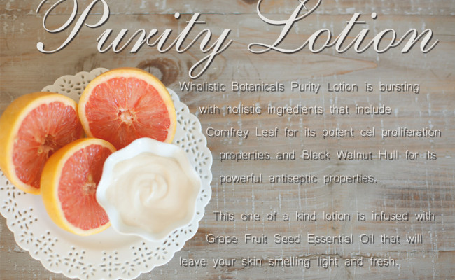 Purity Lotion Flyer
